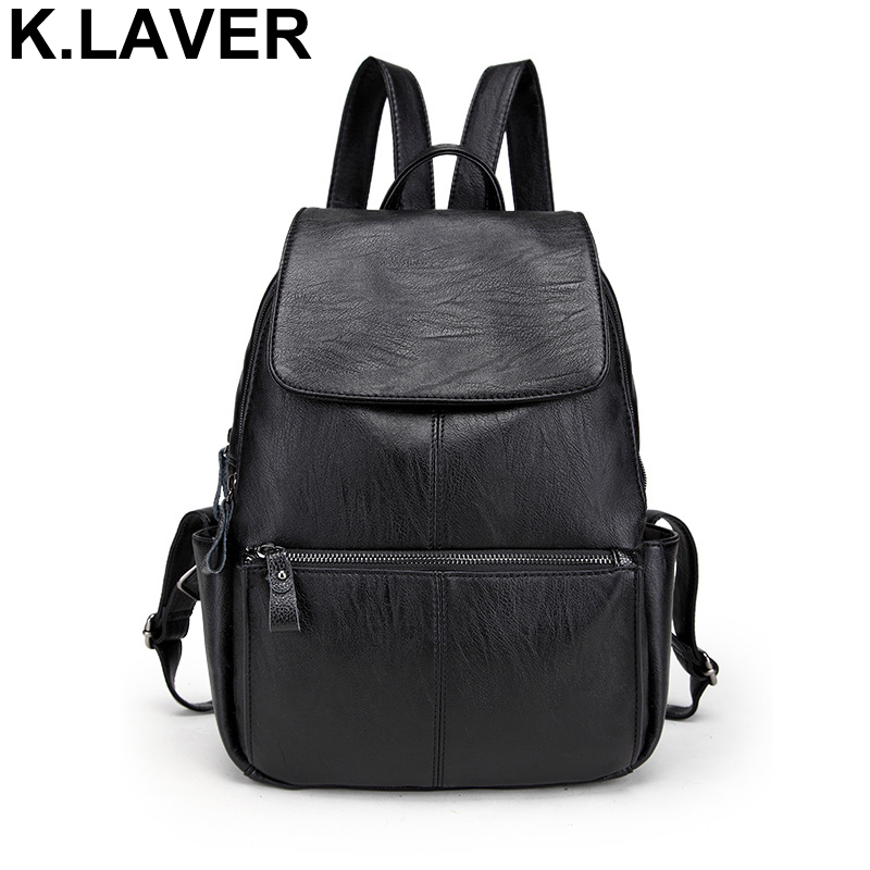 Women Leather Backpack Fashion Schoolbag Female Rucksack Back pack Girl Shoulder Bag Mochila Ladies Knapsack Travel Bags Bookbag