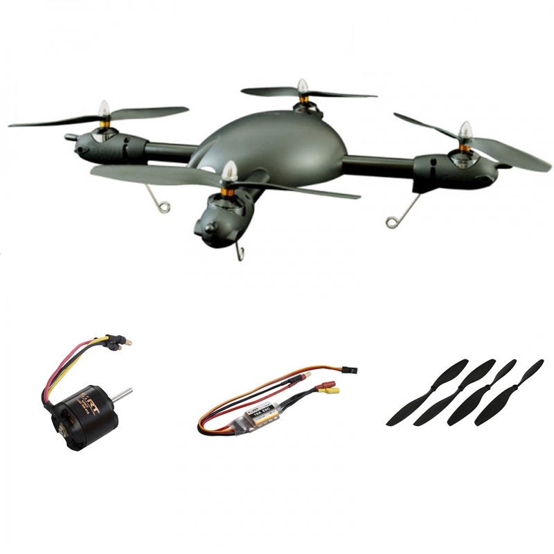 Best Deal MRT 500X 500mm RC Drone Frame Combo with 800KV Motor 18A ESC 10 Inch Propeller DIY Quadcopter Multirotor Spare Parts modern cx 10 rc quadcopter spare parts blade propeller jan11