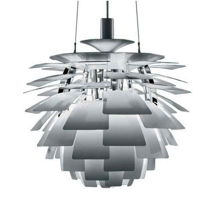 Pinecone Thousand Blades Pendant Lamps Living Room Restaurant Lights Simple Modern Bedroom lamp. E27, Dia:38cm/48cm.