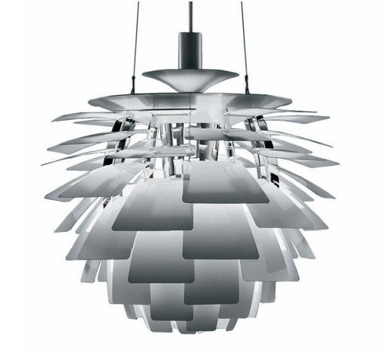 Pinecone Thousand Blades Pendant Lamps Living Room Restaurant Lights Simple Modern Bedroom Lamp. E27, Dia:38cm/48cm.