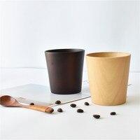 Pot Cup Manual Rubber Wood Coffee Cupszakka Handmade Wooden Cups Solid Wood Coffee Cup Tea Drinkware