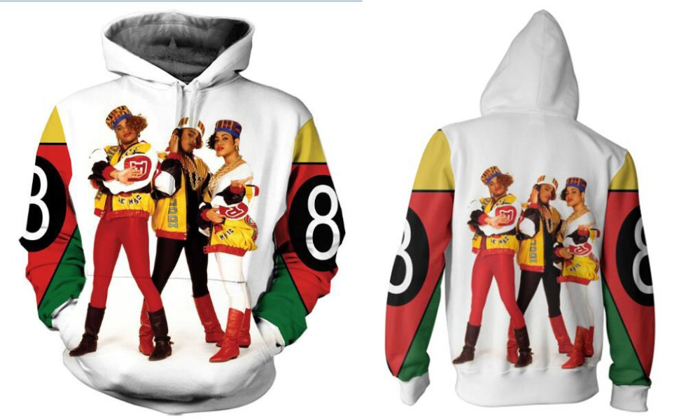 Hearty Real American Size Salt N Pepa 8 Ball Sublimation Print Oem Hoody/hoodie Custom Made Clothing Plus Size Hoodies & Sweatshirts