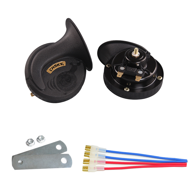 CHSKY Patent loud car klaxon horn 12V car styling parts loudnes 110db waterproof dustproof Teflon coating technology car horn