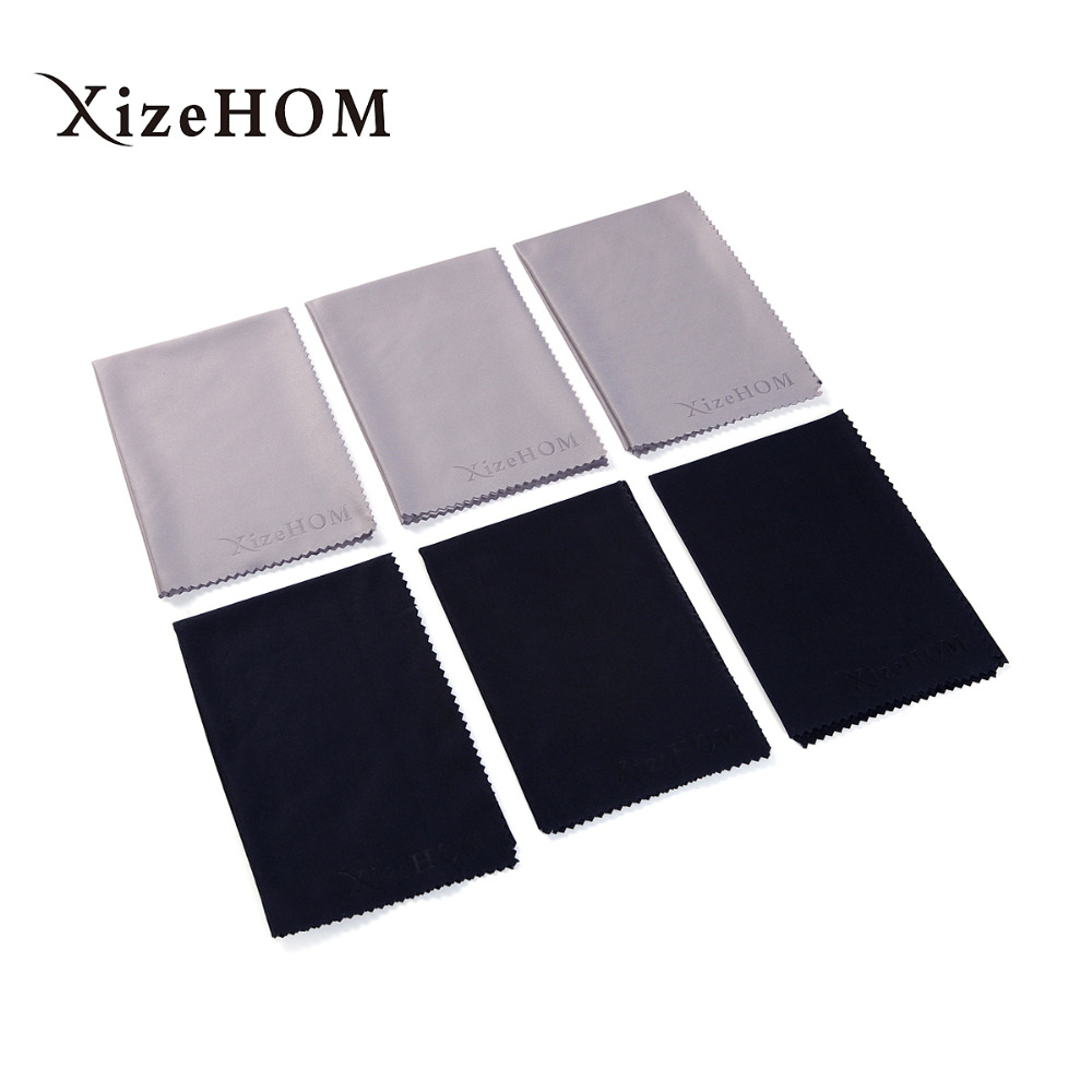 30*30cm/6pcs Large Size Lens Clothes Eyewear Accessories Cleaning Cloth Microfiber Eyeglasses Camera Glasses Duster Wipes