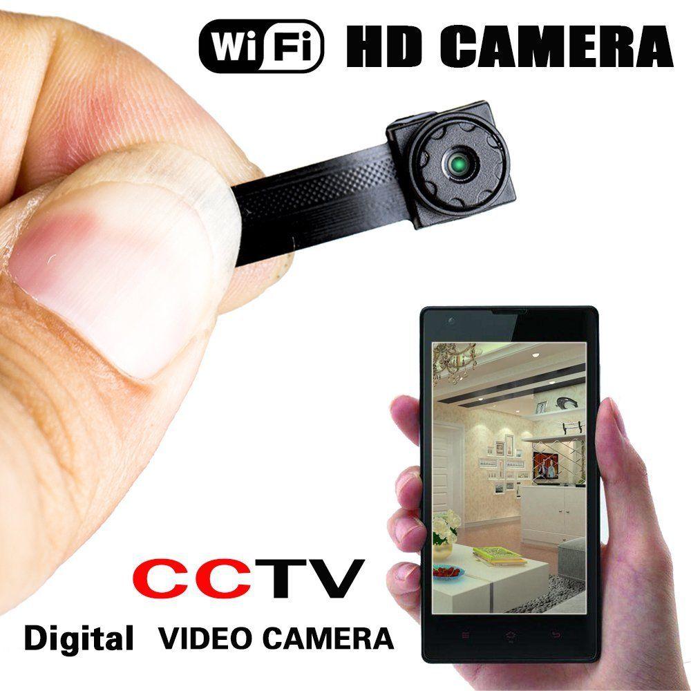 Wireless Nanny Cam DIY Digital Video Camera Mini Micro Dvr WIFI IP