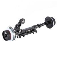 DP30 JTZ Dupla Acompanhamento Foco 15mm/19mm KIT para FS700 BMCC C300 C500 A7M2 ARRI VERMELHO