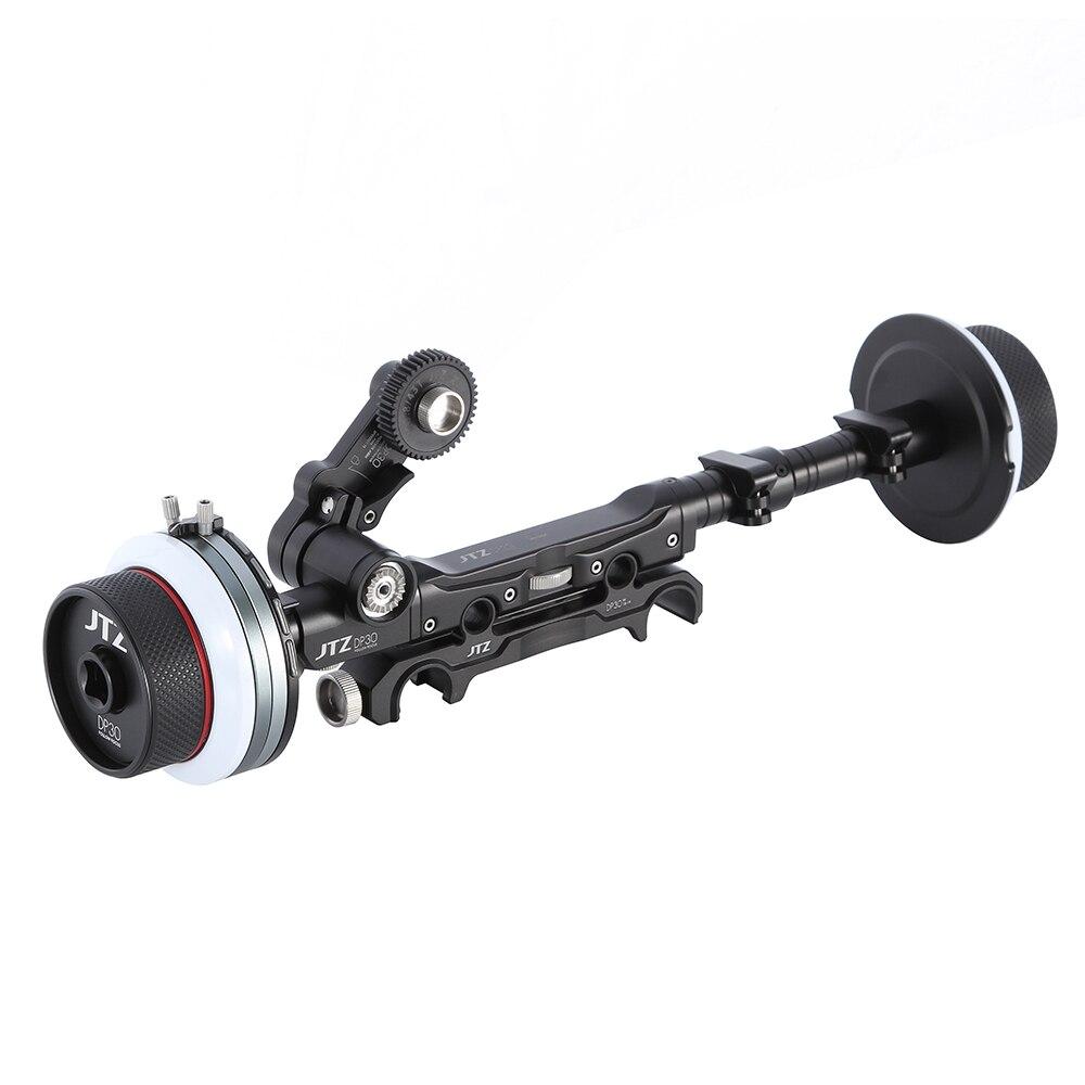 Jtz dp30 dual Enfoque 15mm/19mm kit para fs700 c300 c500 bmcc a7m2 ...