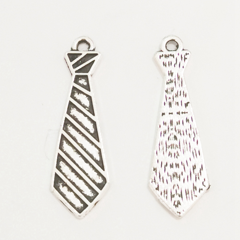 Новинка 15 шт винтажный Стиль цинковый сплав 3d галстук 27*9