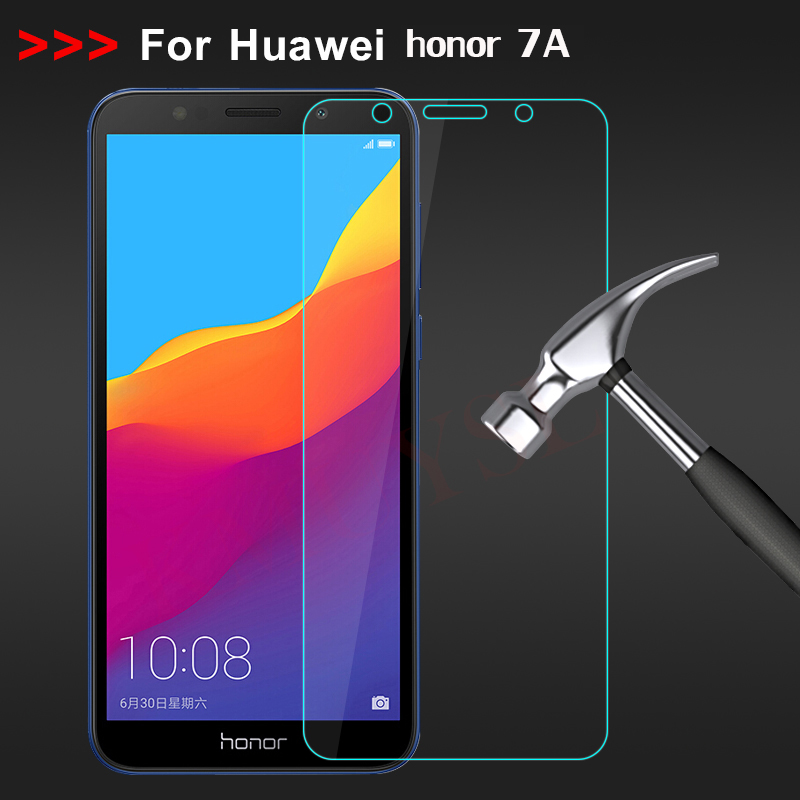 Tempered Glass Huawei Honor 7A Screen Protector Huawei DUA-L22 Protective Film Glass Huawei Honor 7A 7 A DUA-L22 Russian Version