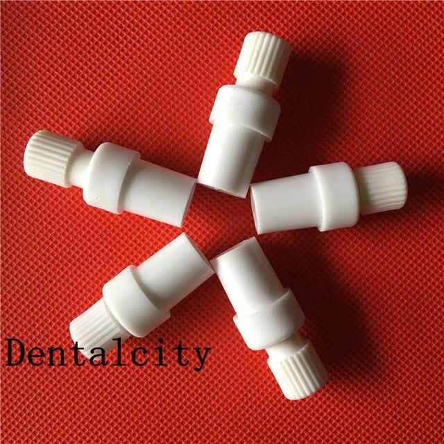 10 piezas nueva Dental tubo de succión convertidor Saliva eyector de succión adaptador Autoclavable