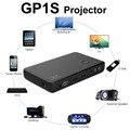 5pcs Mini Portable Pocket Projector GP1S  DLP Projector Built-in 2400mAh Battery Full HD 1080P Theater 600 : 1 Contrast Ratio