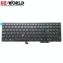 חדש מקורי GB בריטניה אנגלית מקלדת עבור Lenovo Thinkpad P50S T560 W540 T540P W541 T550 W550S L540 L560 Teclado 04Y2377 04Y2455