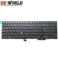 New Original GB UK English Keyboard for Lenovo Thinkpad P50S T560 W540 T540P W541 T550 W550S L540 L560 Teclado 04Y2377 04Y2455