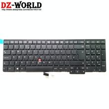 Nuevo Original GB Teclado Inglés de Reino Unido para Lenovo Thinkpad P50S T560 W540 T540P W541 T550 W550S L540 L560 Teclado 04Y2377 04Y2455