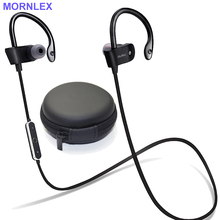 Handsfree bluetooth earphone sport running stereo earbuds wireless earphone headphones with microphone for smartphone headset
