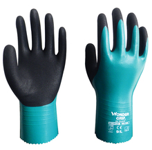 Water Proof 2 Pairs 100% Nylon Micro Foam Nitrile Maxi High Flex Waterproof Oil Acid Base Chemical Resistant Safety Work Gloves