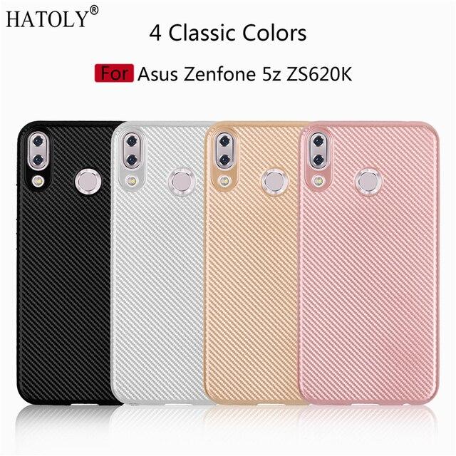 sale retailer bc034 25369 US $1.74 39% OFF Phone Case Asus Zenfone 5Z / Zenfone 5 ZE620KL Case Soft  Rubber Silicon Armor Back Cover For Asus Zenfone 5Z ZS620KL Case Fundas-in  ...