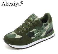 Akexiya Running Shoes Men Sneakers Couples Sport Athletic Women Outdoor Excsies Camouflage Breathable Couple Trainer Shoes