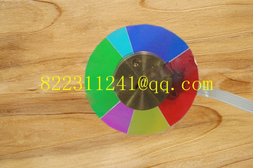 ФОТО NEW original Projector Color Wheel for Optoma HD2OLV Projector Color wheel