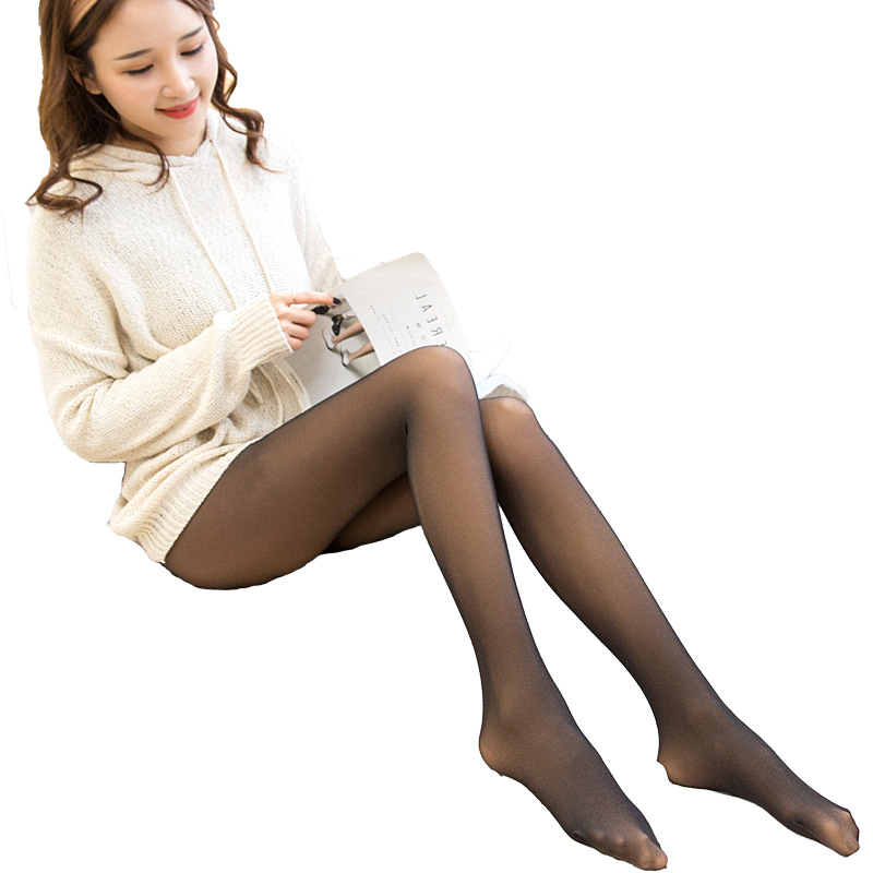 iurstar 80g Spring Summer Thin Section Tight Transparent Skin coloured Pantyhose Anti hook Pantyhose Monolayer Slim Pantyhose in Tights from Underwear Sleepwears