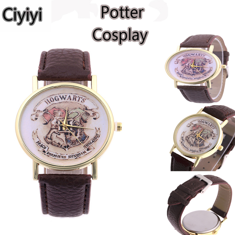Harri Potter Cosplay College Watch Toy Harri Potter Children Hogwarts School Party Show Magic Watch Toys Halloween Jouet Gift