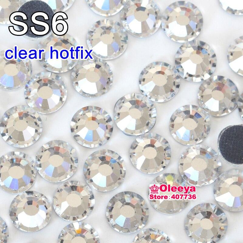Aliexpress Com Buy 1440pcs Gold Bottom Crystal Clear: Aliexpress.com : Buy 1440pcs Good Quality Ss6 Crystal