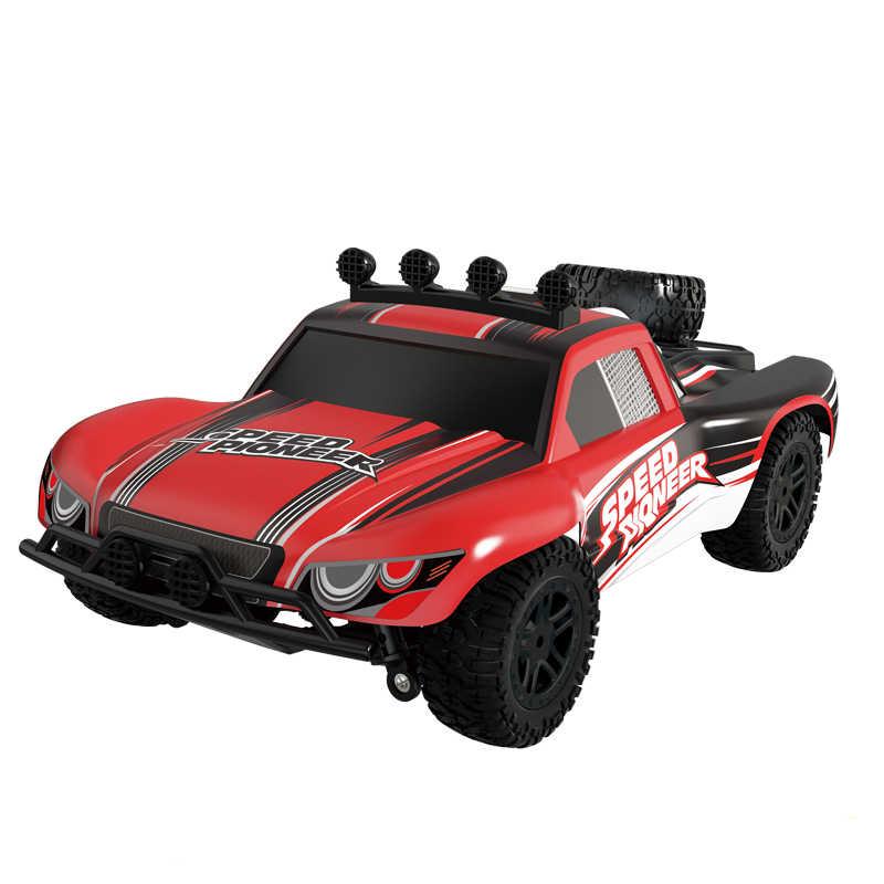 Coche RC 4WD 45 km/h proporción completa de alta velocidad Drift 2,4G Monster camión Control remoto bigpie Buggy Off- juguetes electrónicos todoterreno