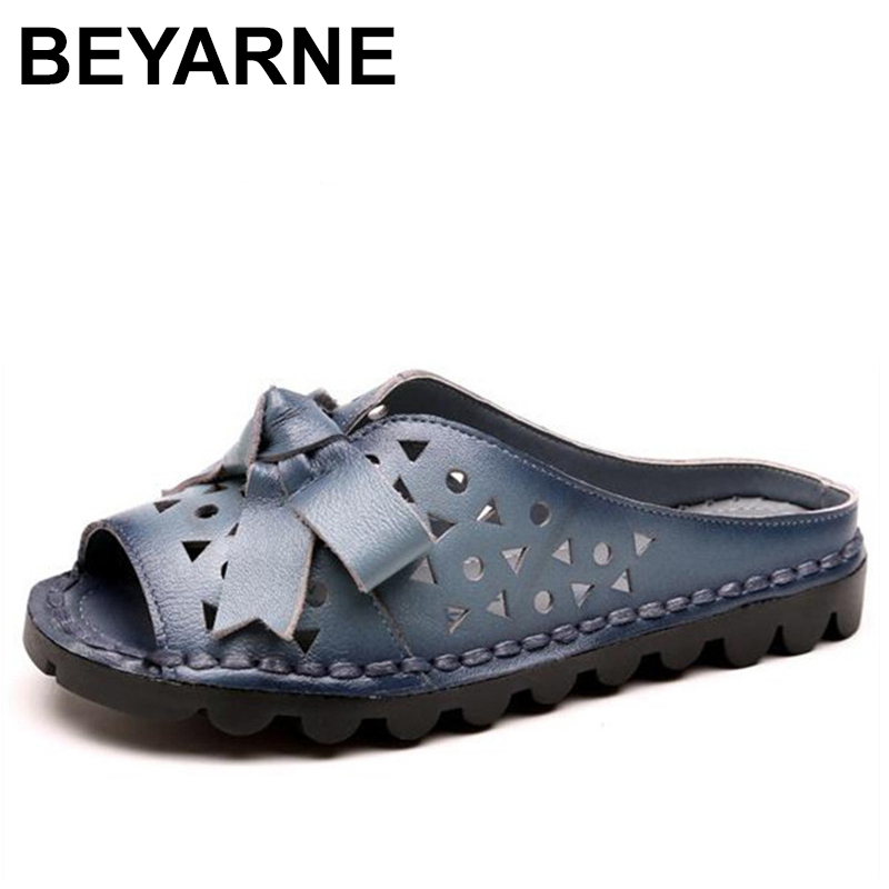 BEYARNE Summer mother slippers fashion ladies slippers soft and comfortable casual shoes Woman Slope with sandals women shoes 70cm ladies wigs ice and fire song dragon mother synthetic hair