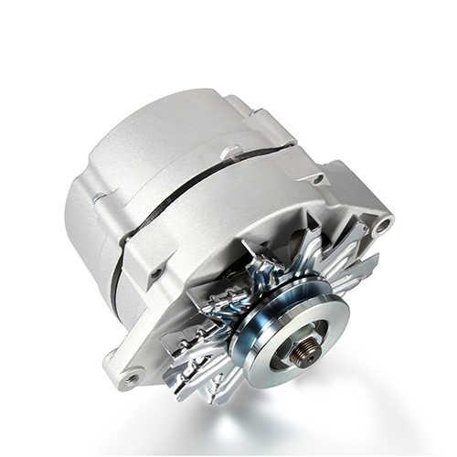Автомобиль новый генератор переменного тока для «Chevrolet Impala» 66-72 Malibu четырёхъядерный 64-разрядный процессор 67 4.1L 5.7L 6.6L OE #1100875