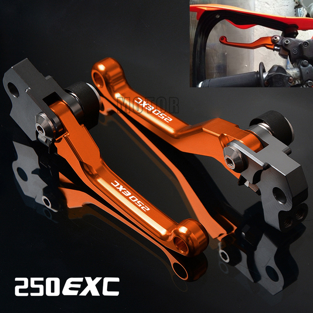 For KTM 250EXC/250EXC-F 2005-2018 250 EXC/EXC-F/EXCF F CNC Motorcycle DirtBike Dirt Pit Bike Motocross Pivot Brake Clutch Levers