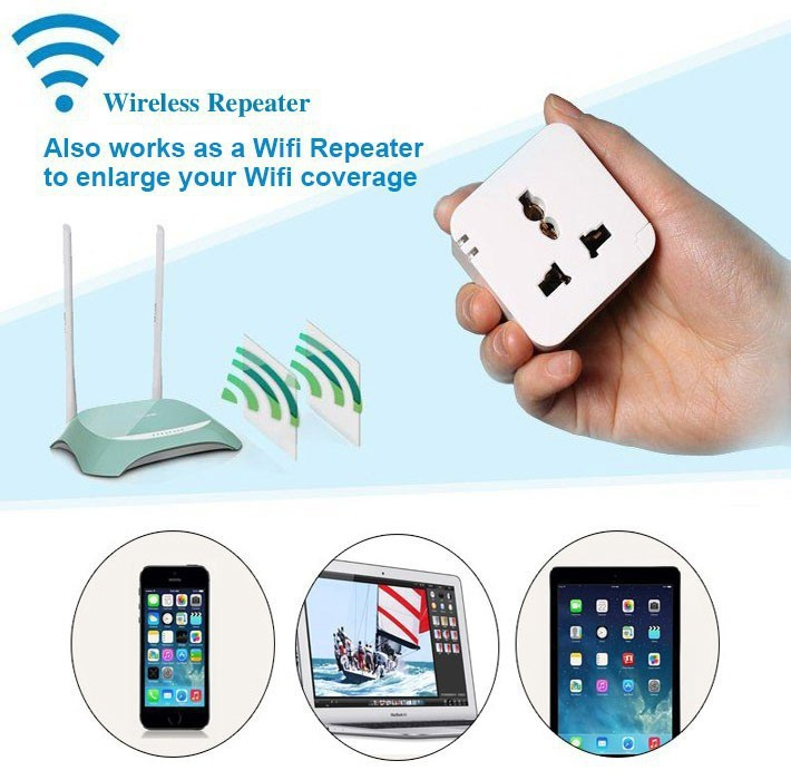 NEW!Wifi Smart Plug Iphone Ipad Android Smartphone Wireless Remote Control Switch Socket Wifi (EU/AU/UK/US) - MIXI store