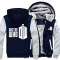 Doctor Who Moletom Com Capuz Zipper Jaqueta de Inverno do Casal Camisola Camisa Esporte Unisex