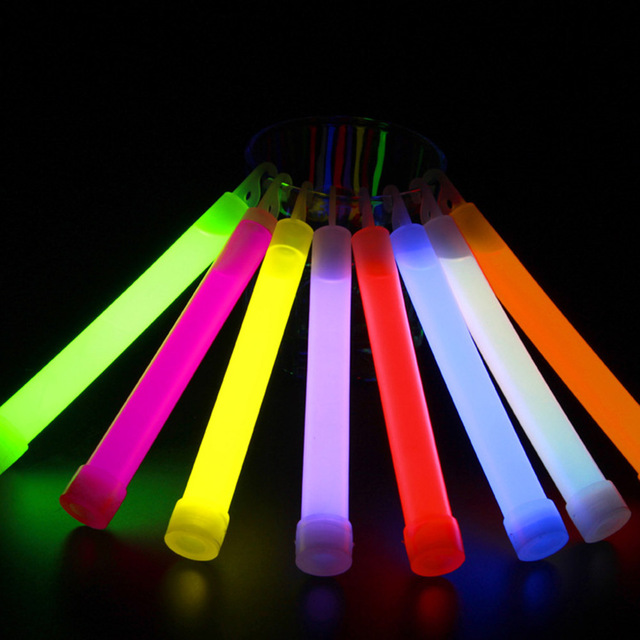 what are glow sticks made of