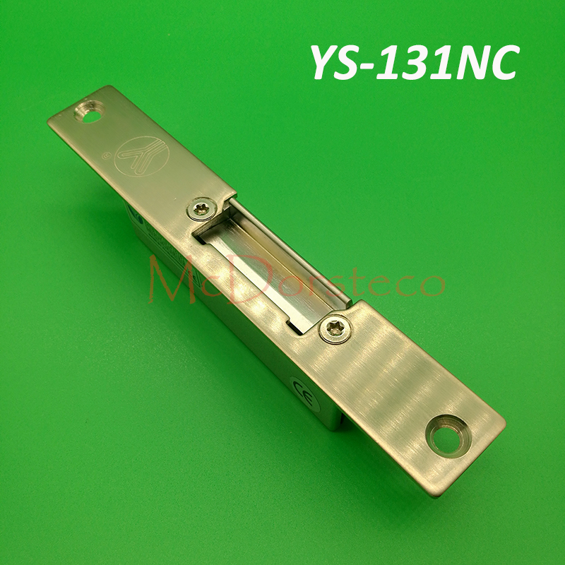Quality Narrow type Electric Strike Fail Secure/safe Yli Electric Door Access Control YS131NO/NC