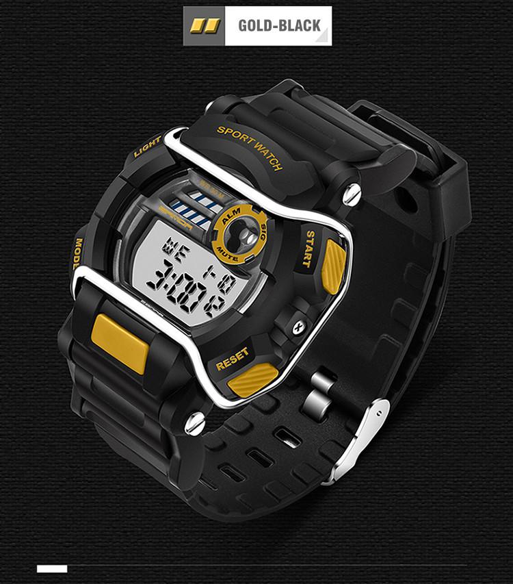 sanda luxury brand led digital watches fashion men\'s sports wristwatches drop shipping (42)