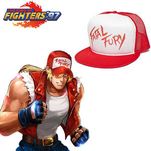 OnnPnnQ King Fighters Fury Cap Hat Game Cosplay Accessories f16deed37fd7