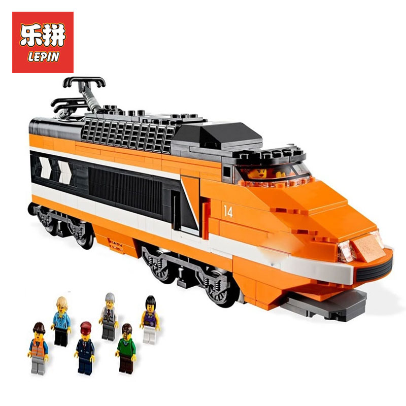 Lepin 21007 1351Pcs Out of print the sky train Model Building Kits  Blocks Bricks Toys Compatible With LegoINGlys 10233 for boys walthers model train 90 inch length of the train locomotive wheel suite 33 cm 933 933