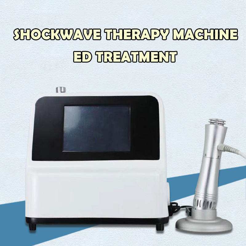 Shockwave Therapy Machine Physical Therapy Equipment Knee Back Pain Relief Reliever System Acoustic Extracorporeal Shock Wave