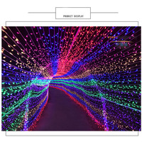 100M 500 LEDs Fairy String Light Curtain waterproof for Outdoor Home Party Christmas Holiday Wedding Decoration lighting CA71