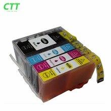 4x картриджи для HP 934 935 XL 934XL 935XL HP934XL Officejet Pro 6812 6830 6815 6835 6230 E- Все-в-одном струйный принтер