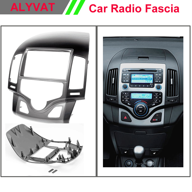top quality car cd dvd auto frame radio fascia for hyundai. Black Bedroom Furniture Sets. Home Design Ideas