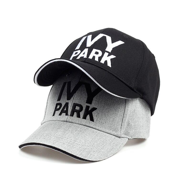 Beyonce IVY PARK   Baseball     Cap   Brand Fashion Style Cotton Hemp ash Hat Embroidery Unisex Snapback   Caps   Adjustable Women Man