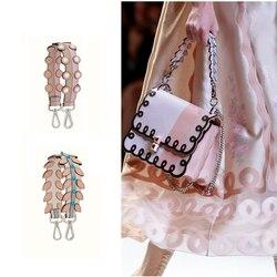 AUTEUIL PARIS 2018 correa de hombro para mujer de primavera recién llegado accesorio de bolso de cuero correa que bolso Correa famosa marca ES005-5