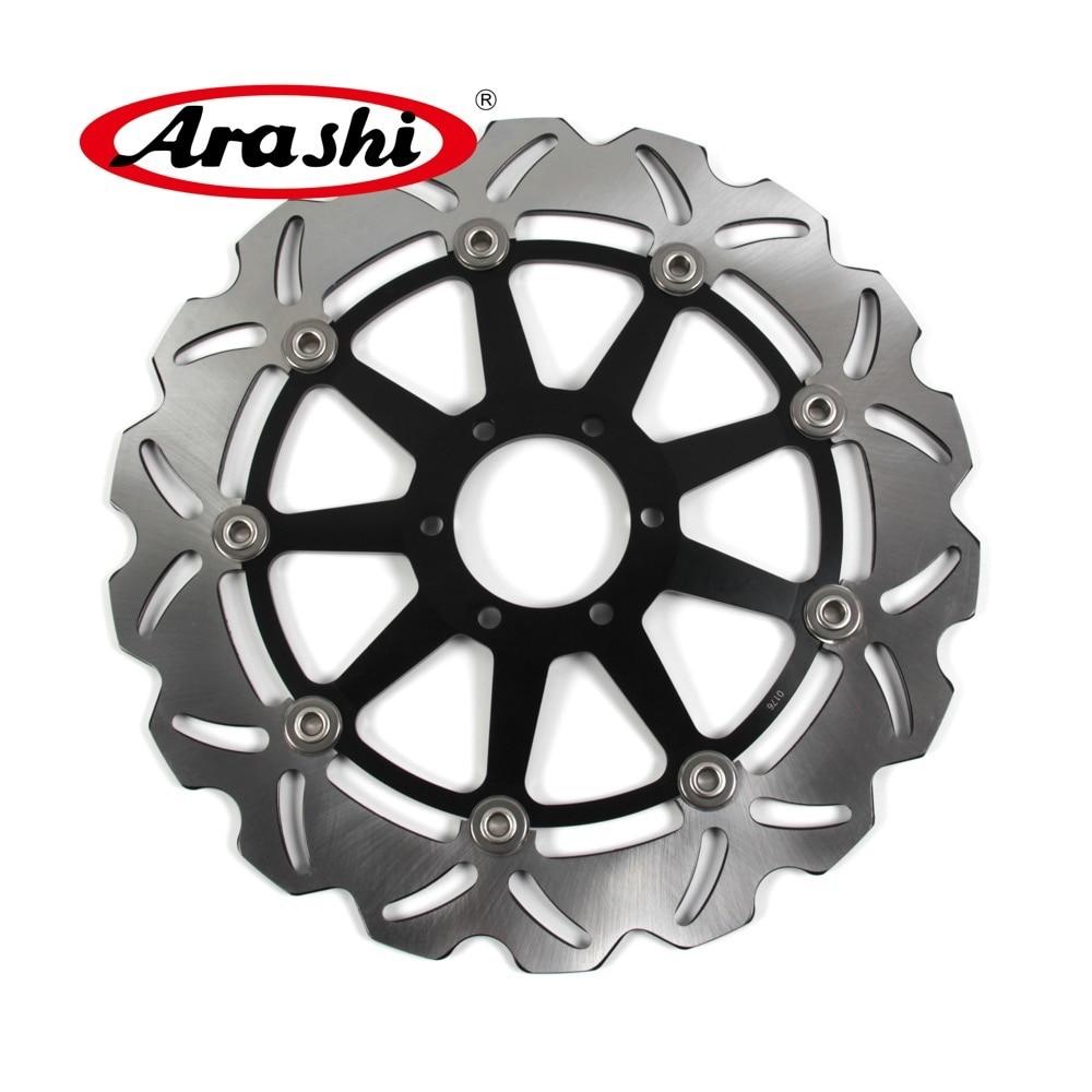 Arashi 1 PCS For CAGIVA RAPTOR 125 2003 2004 2005 2006 2007 2008 2009 2010 CNC Front Brake Disc Brake Rotor MITO EV125 1995-2007 arashi 1pcs cnc floating front brake disc brake rotors for cagiva mito 525 125 2006 2007 mito 125 1991 1992 1993 1994
