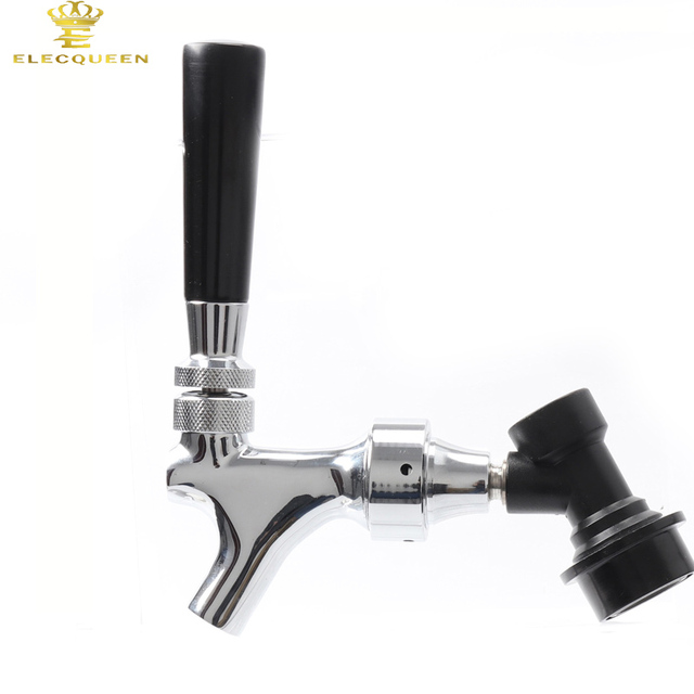 Pefect Beer Tap Polished Chrome Draft Beer Faucet, Home brewing Keg ...