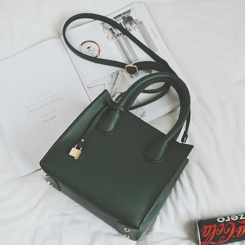 Women Vintage Leather Handbags Medium Shoulder Bags Top-Handle Luxury Women Messenger Bag Famous Brands Female Tote Women Bolsa
