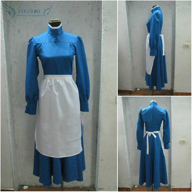 Howlu0027s Moving Castle Sophie Dress Cosplay Costume  Perfect Custom For You ! & Howlu0027s Moving Castle Sophie Dress Cosplay Costume  Perfect Custom ...