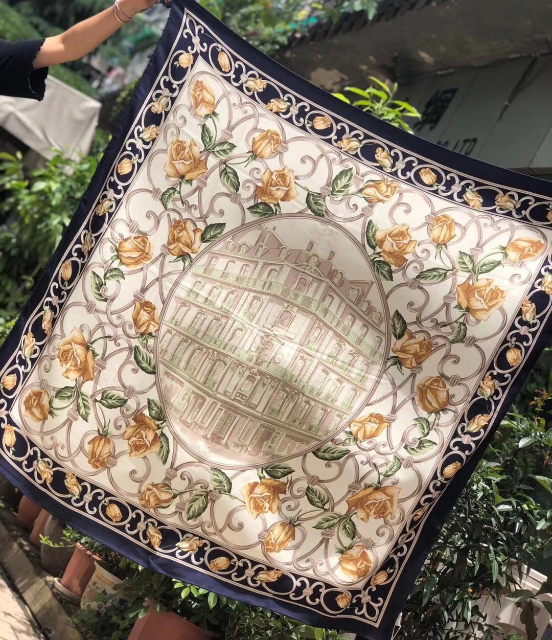 Beautiful Cashmere Silk Blend Shawl Scarf Fashion Women Wrap Coat Scarves 100% Pattern Ratio 140*140cm