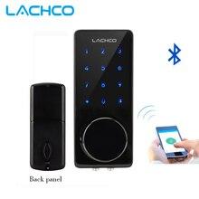 LACHCO Smartphone Bluetooth Door Lock APP Combination, Code Touch Screen Keypad Password Smart Electronic Lock L16076BAP