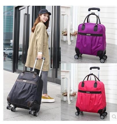 Rädern trolley Reisegepäck taschen tragen auf rollgepäcktasche Reise bordtasche mit rad reise handgepäck koffer-in Reisetaschen aus Gepäck & Taschen bei  Gruppe 1